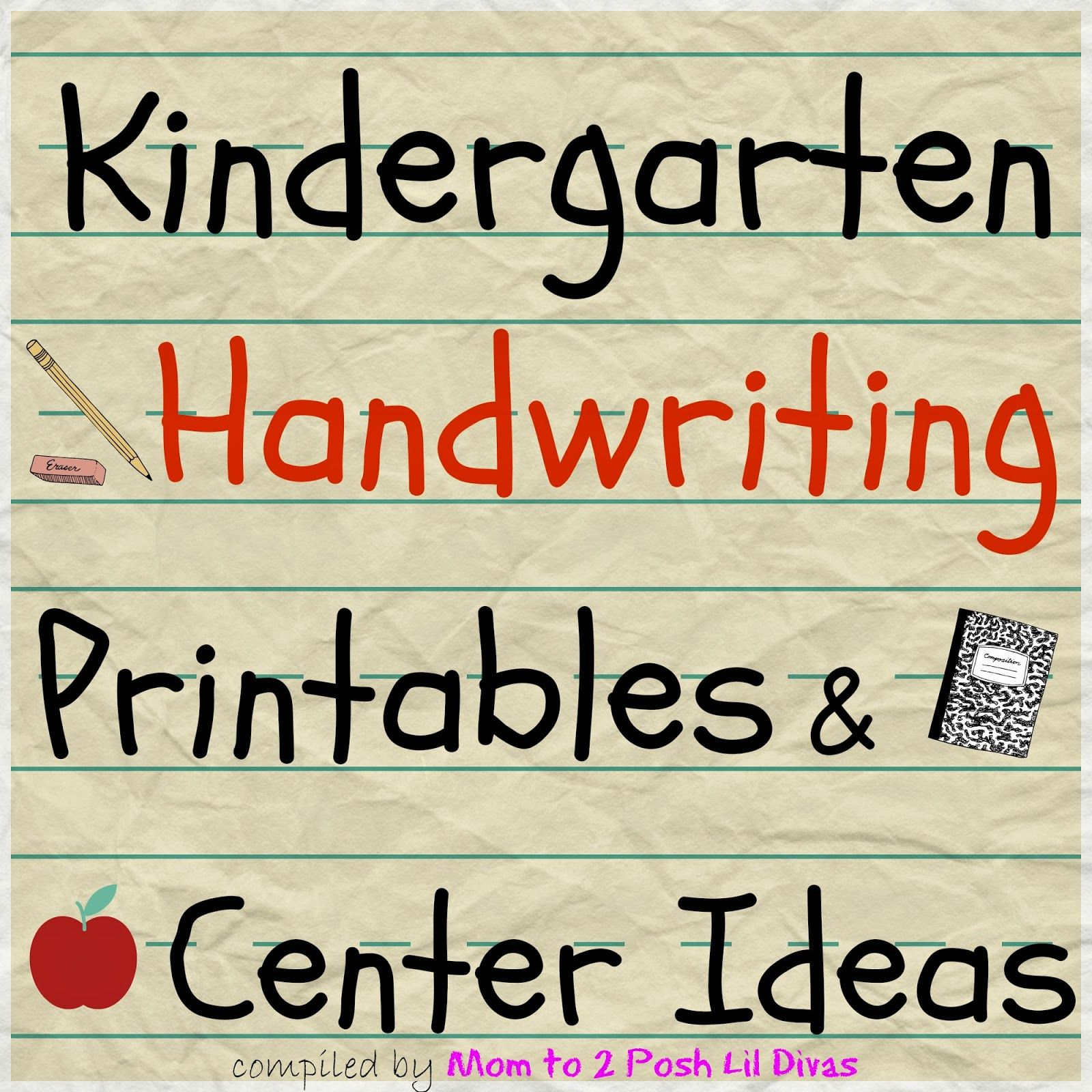 Hands On Amp Fun Handwriting And Fine Motor Ideas
