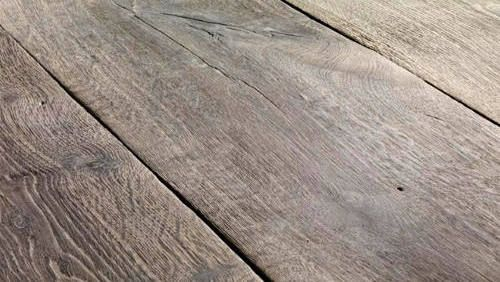 Reclaimed Wood Flooring This Is Wow Old Oak Is Amazing See More Holz Massivholz Arbeitsplatte Und Eiche Dielen