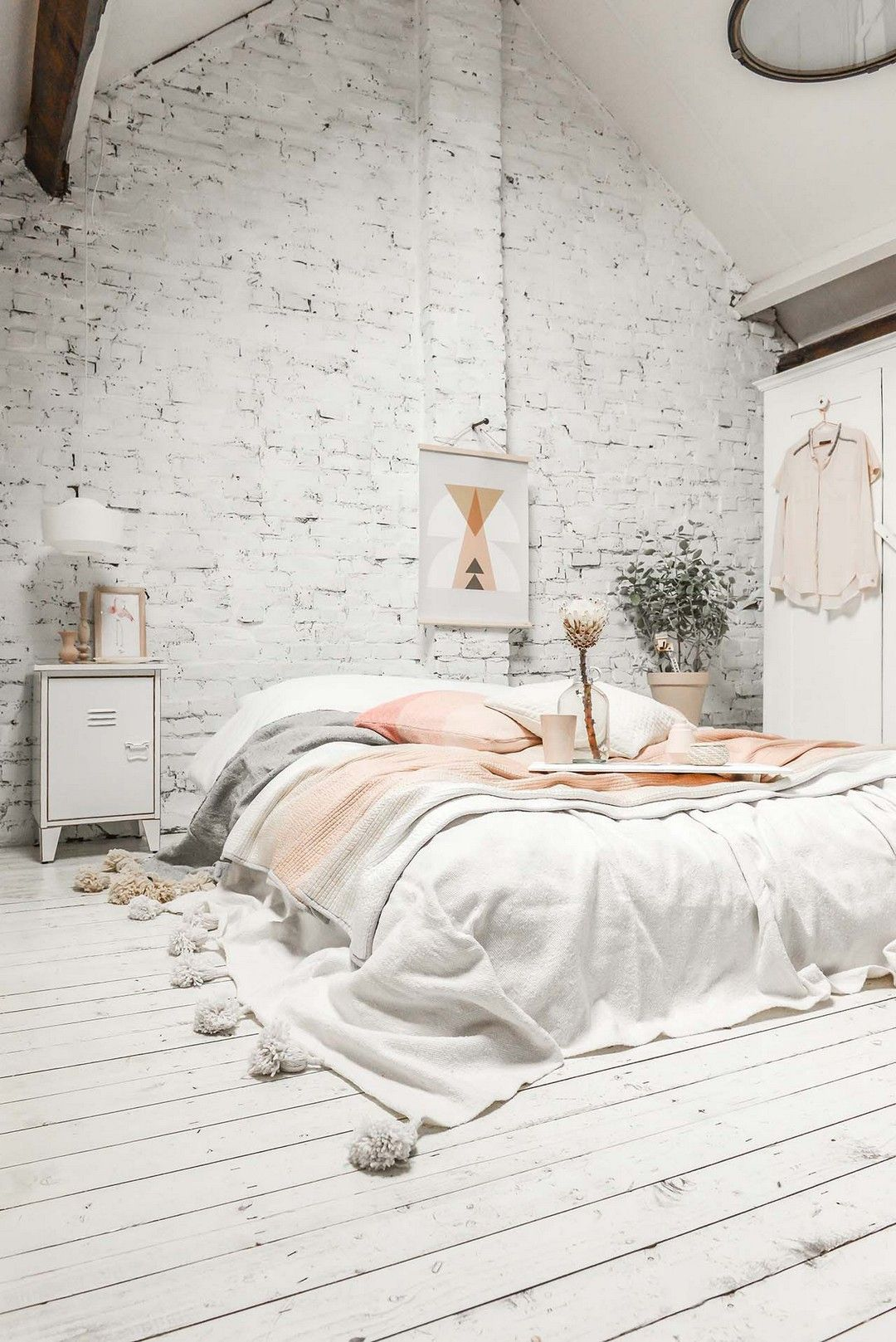 20 Modern And Stylish Rustic Scandinavian Bedroom Decor