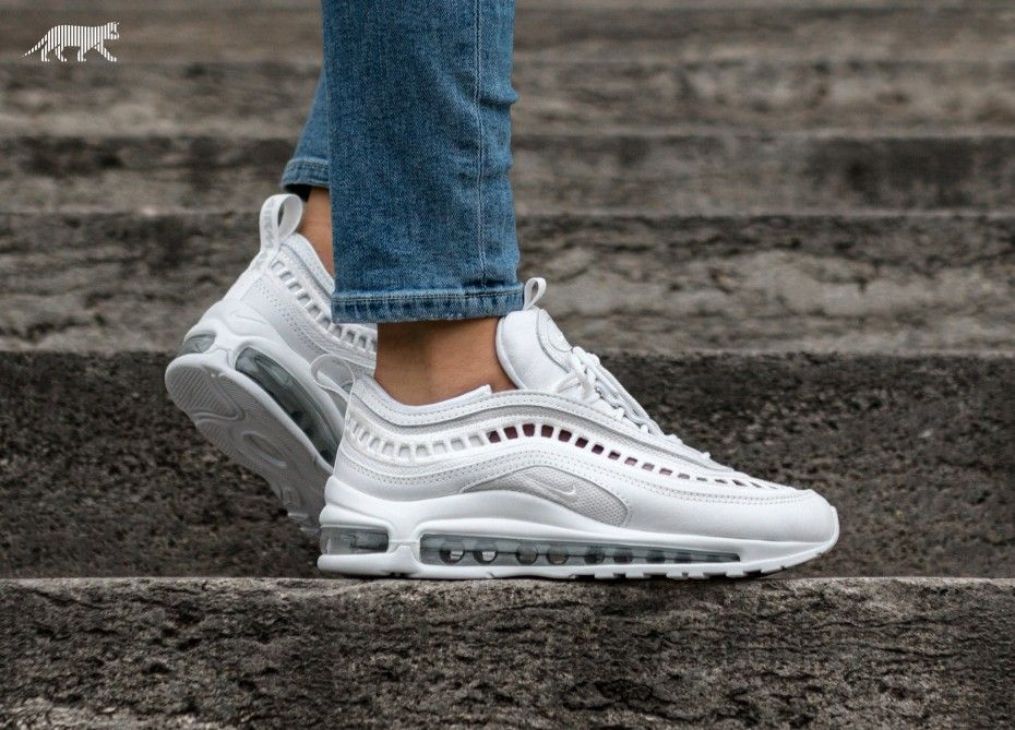 Nike Wmns Air Max 97 Ultra '17 SI (White White Vast Grey