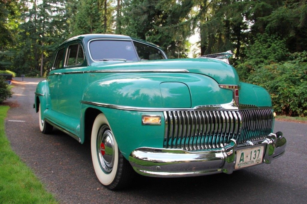 Cool in Two-Tone w/ Airfoil Lamps: 1942 DeSoto Custom | Cars ...