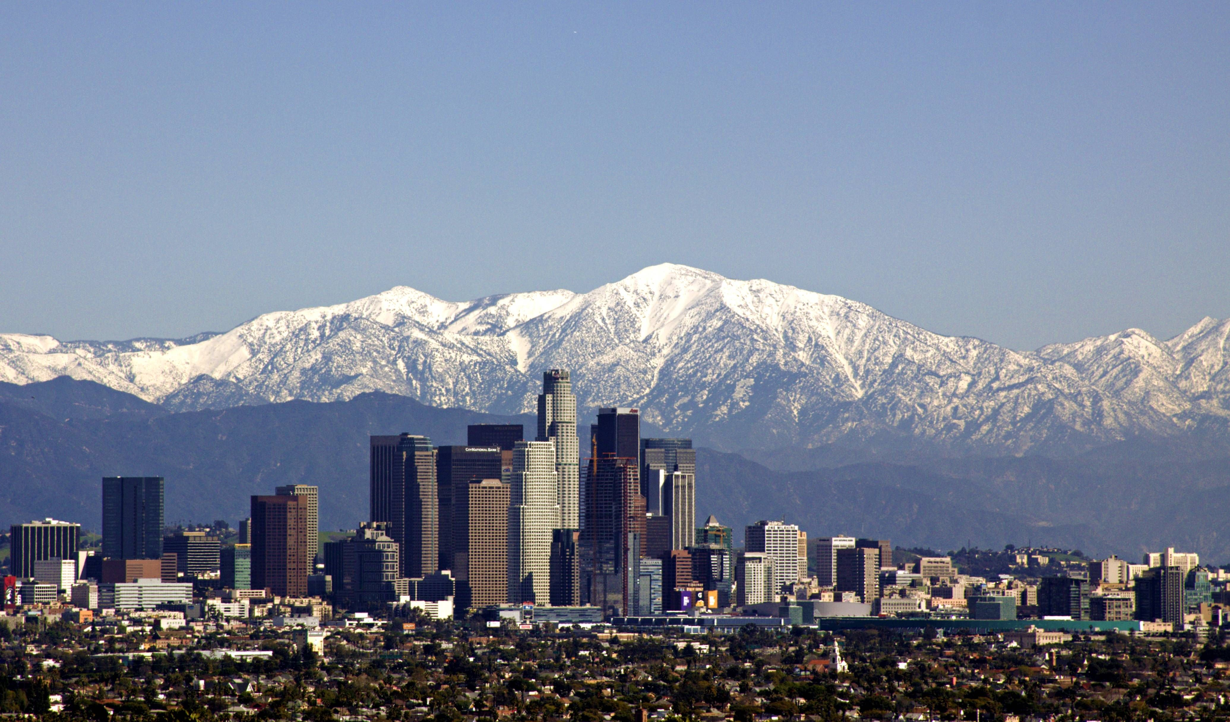 Los Angeles California Mountains Mountain City California Regions