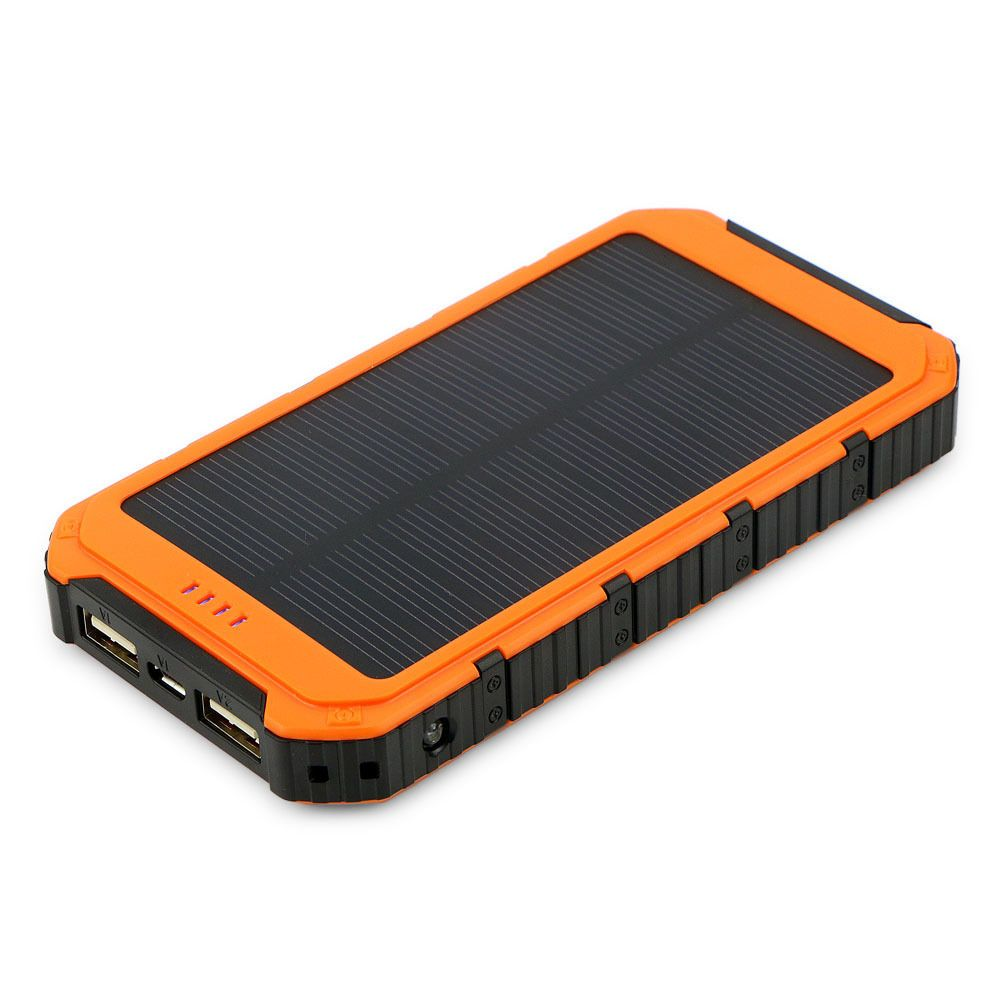18000mah Usb Solar Panel Power Bank External Battery Pack Charger For Cell Phone Battery Pack Charger External Battery Pack Powerbank