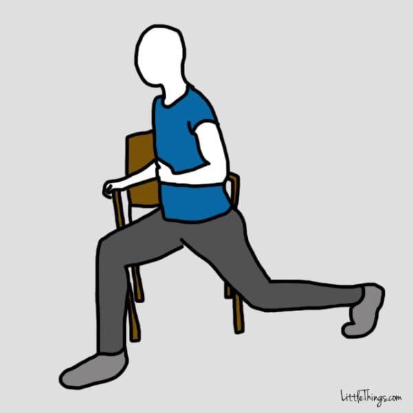 Dolore alla schiena: 10 semplici esercizi da seduto per..