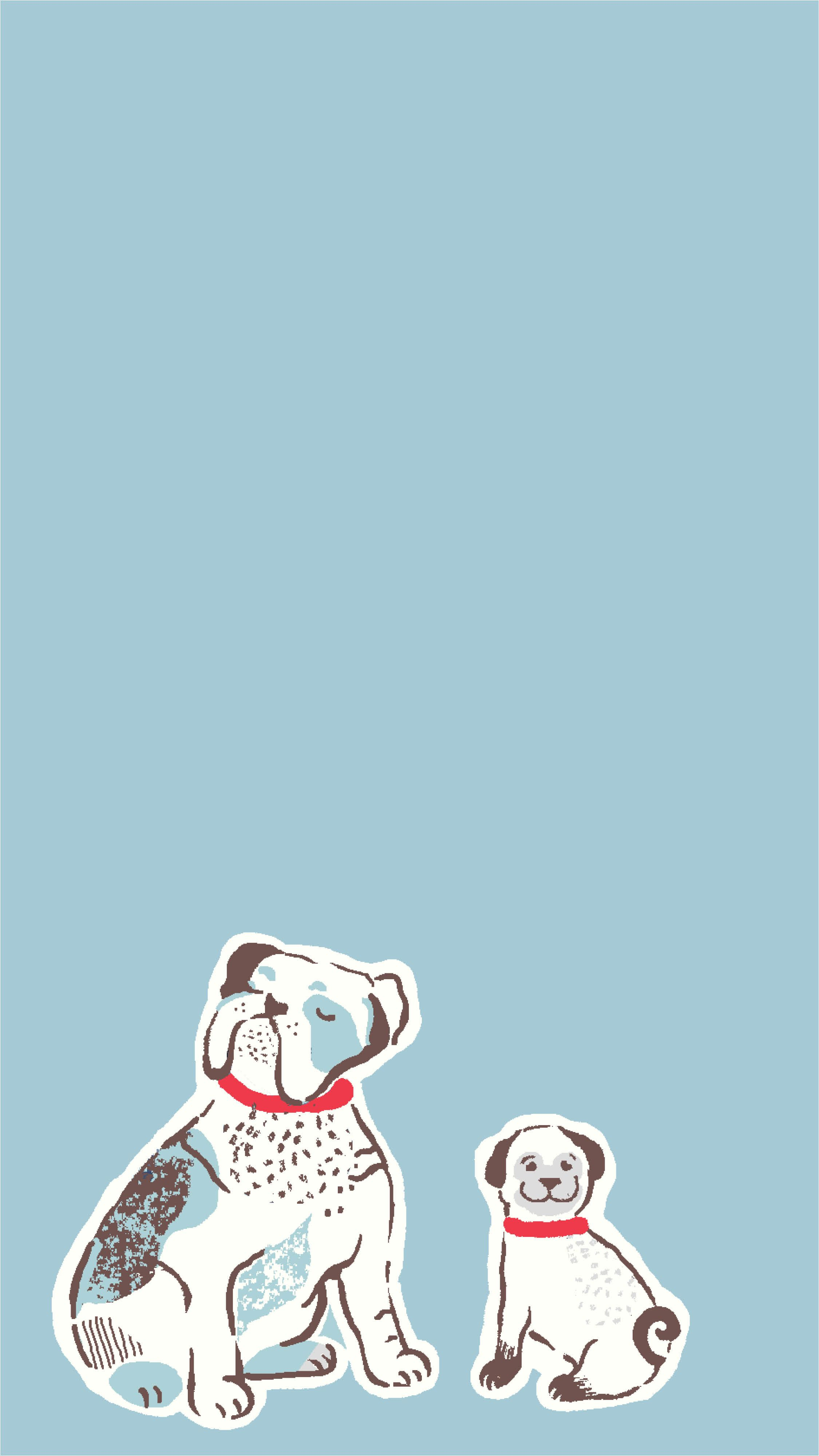 Pin By Ange On Phone Wallpaper Funny Art Cute Bulldogs Illustration
