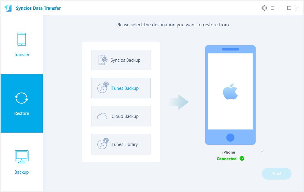Professional Toturial For Restoring Itunes And Icloud Backup To Iphone Xs Effectively Multiple Methods For You To Choose To Sync Da Icloud Oneplus Mobile Data