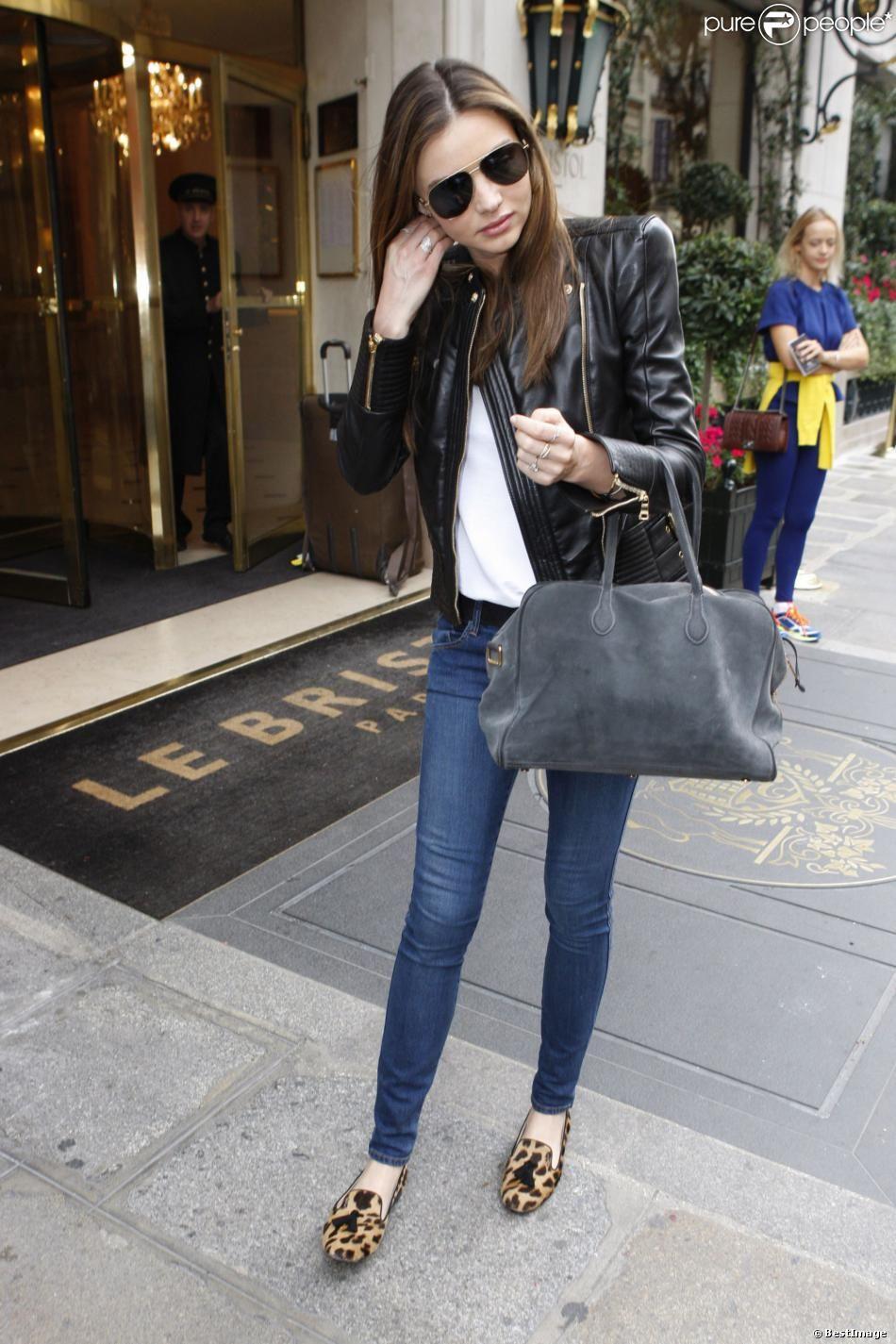 Miranda kerr special black leather jacket pinterest miranda kerr