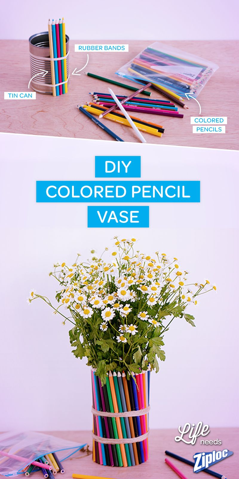 Up Cycle Back To School Supplies With This Easy Diy Craft Kids Will