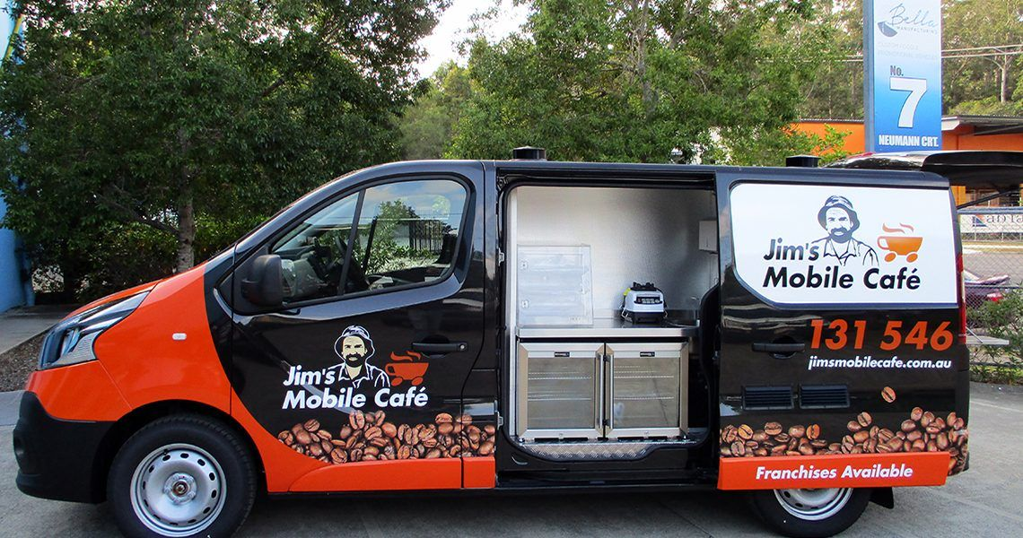 Jim's Mobile Cafe Coffee Van Food Truck Mobile Catering