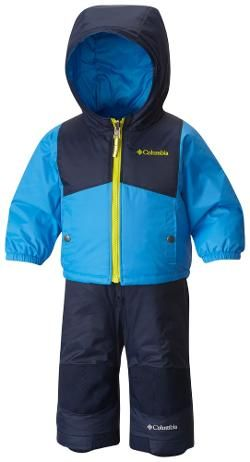 86a659fd8 Columbia Boy's Double Flake Jacket and Bib Pants Snow Set - Toddler Boys'
