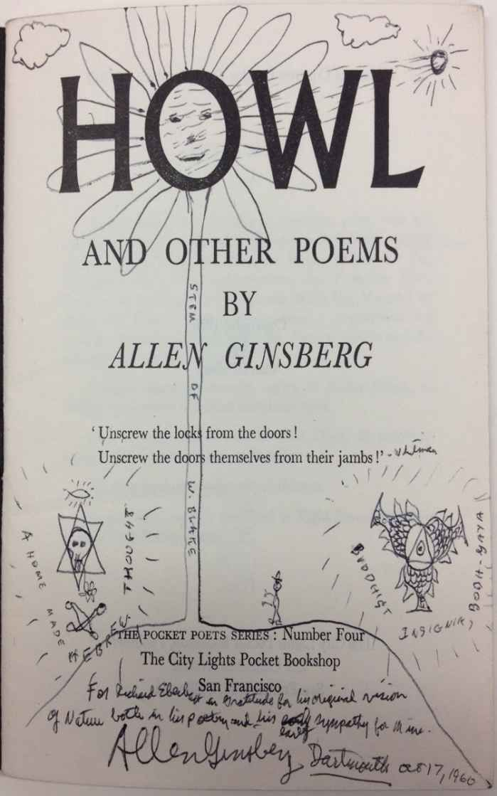 the generation of madness in howl a free verse poem by allen ginsberg Influence the poem was the inspiration for a series of paintings by ceri richards made between 1943 and 1945 some phrases (starry dynamo and machinery of night) in allen ginsberg 's 1955 poem  howl  were derived from thomas's poem.