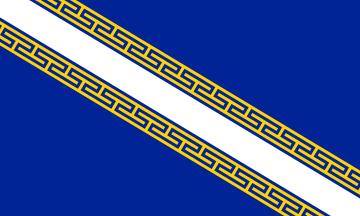 Champagne-Ardenne flag - Regiones de Francia -