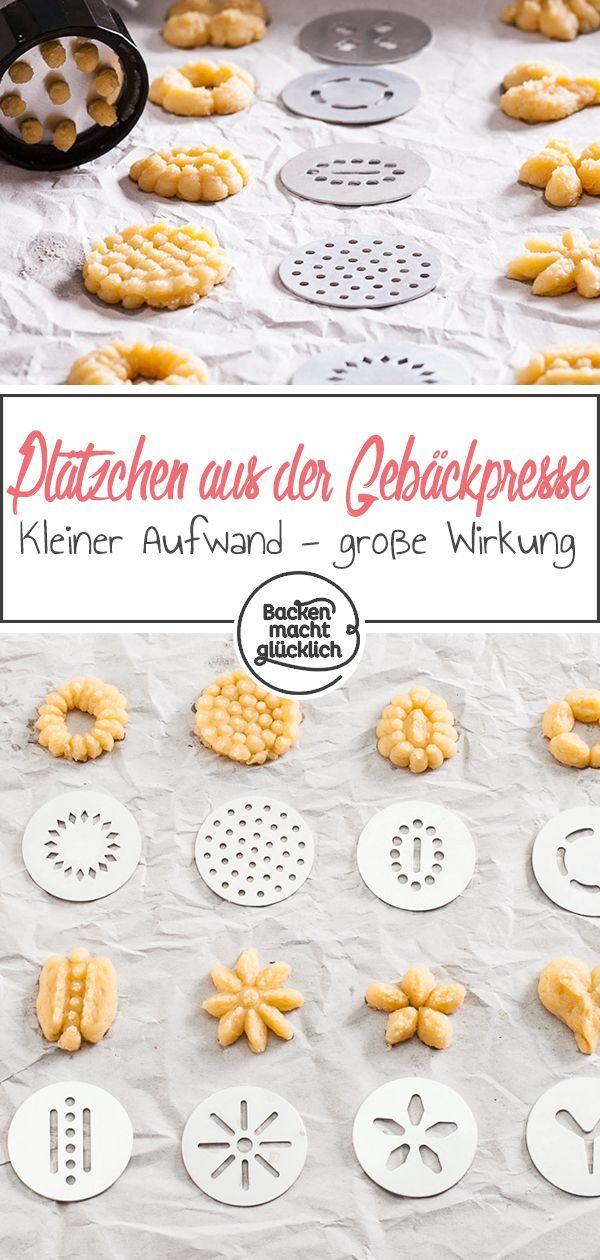 Gebäckpresse für Kekse: Rezept & Test | Backen macht glücklich