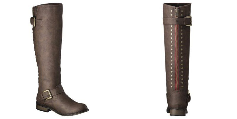 Kayce Tall Boots with Back Studs