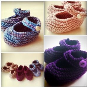 Quick and fun knitting project for all the new babies that are ravelry easy mary jane baby booties pattern by kimberlee daly free pattern dt1010fo