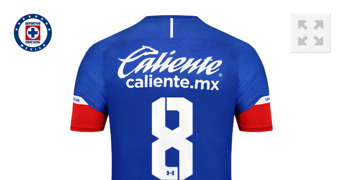 Personalizar camiseta de Cruz Azul 2018 19 con tu Nombre y Numero.  Compartela en fa1fc0e07ebbf