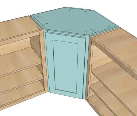 Wall Kitchen Corner Cabinet Keuken Kast Diy Keuken En