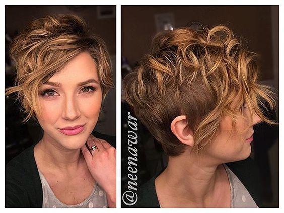 Kurzhaarfrisuren speziell für Frauen mit welligen Haaren! - Seite 5 von 9 - Neue Frisur