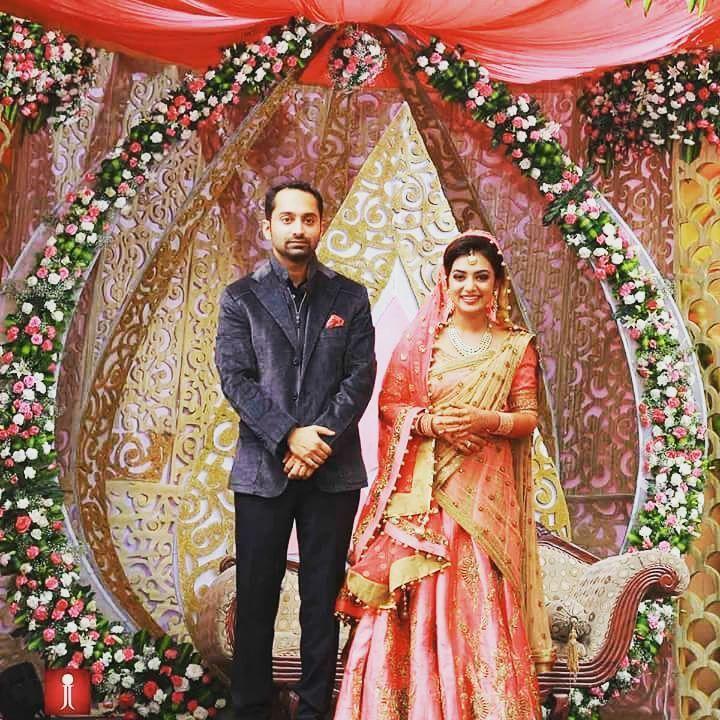 Image result for nazriya nazim wedding