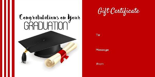 Graduation Gift Certificate Templates 101 Gift Certificate Templates Gift Certificate Template Graduation Certificate Template Certificate Templates