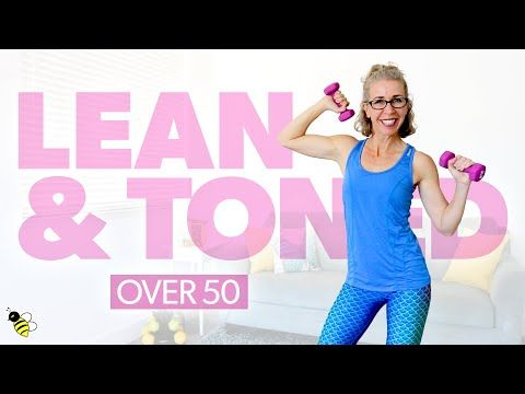 WEIGHT LOSS Cardio Toning Workout for Women over 50 • Pahla B Fitness