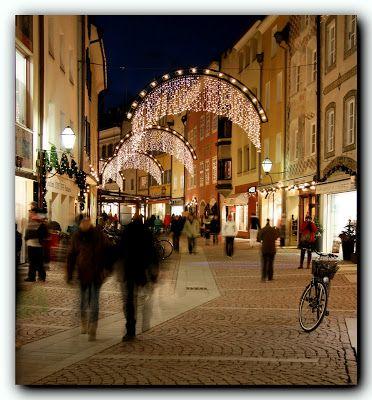 Bergamo (Italia) - Natale sul Sentierone