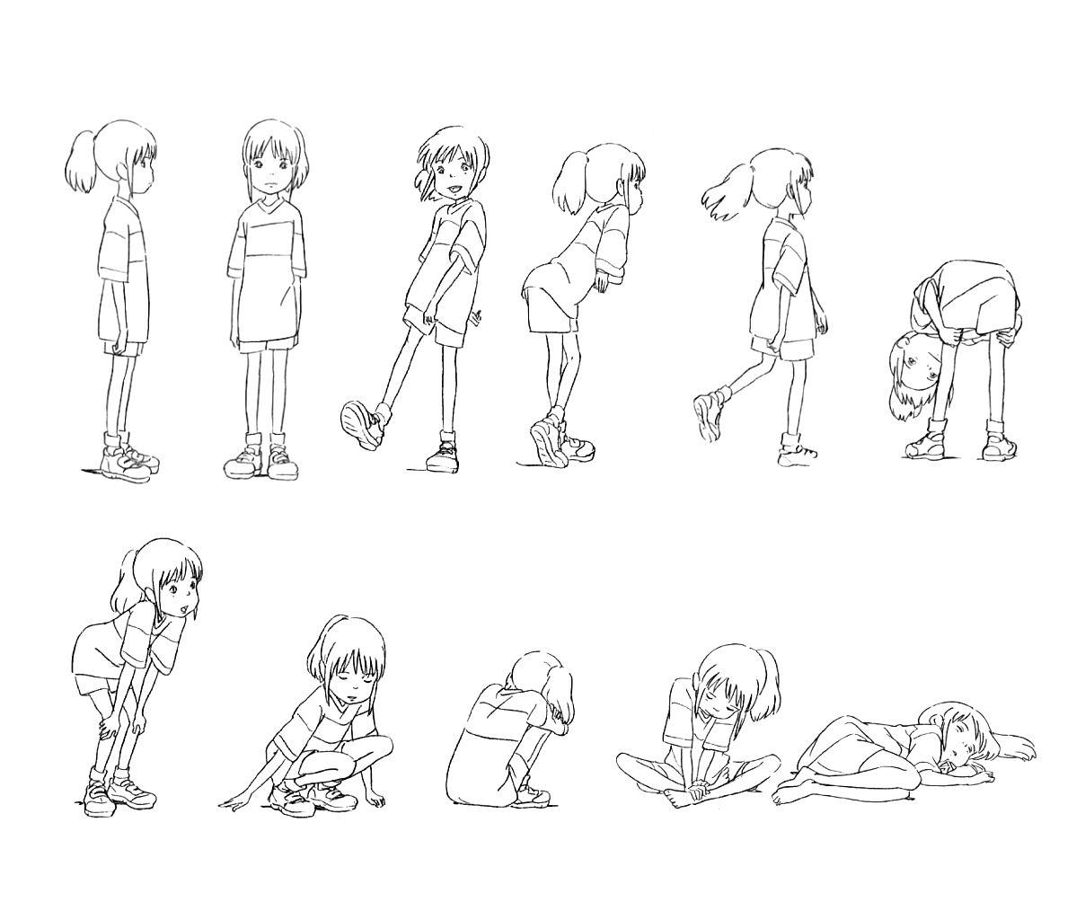 "Character Design Anime Studio Story : ""spirited away 千と千尋の神隠し studio ghibli website"