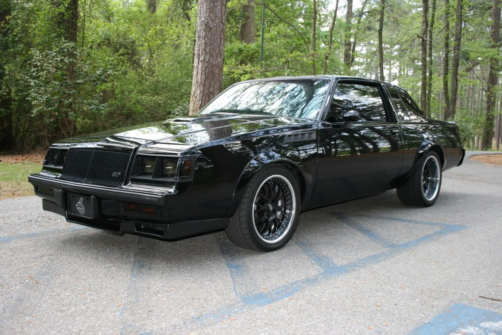Exterior driver side front 3/4 shot of my 1986 Buick Grand National ...
