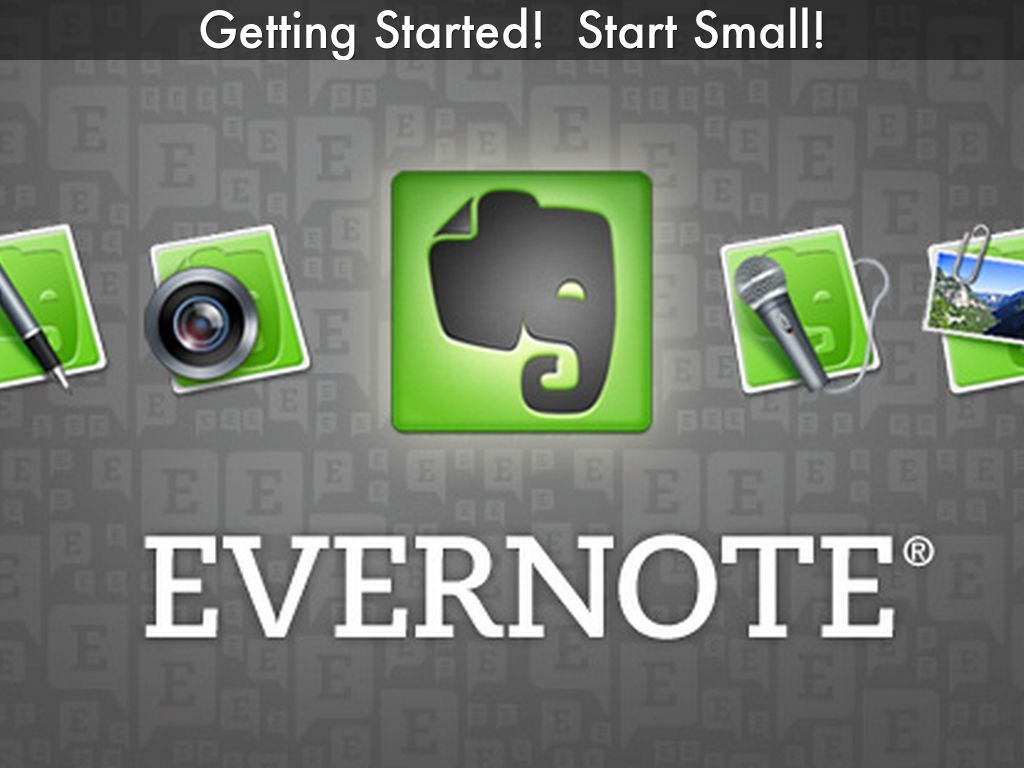 """""""Struggling with Evernote for Real Estate? Start Small"""