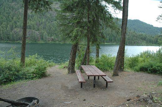 Pierre Lake Campsite Colville National Forest WA ...
