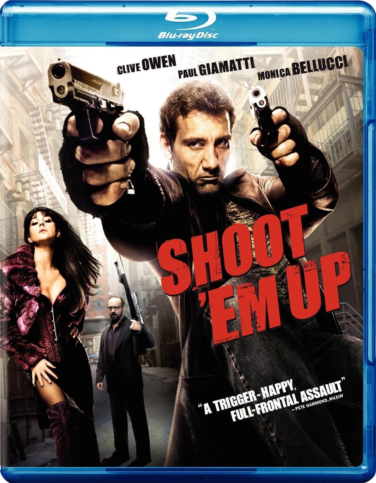 Shoot 'Em Up [Bluray] Action movies 2015, Best action
