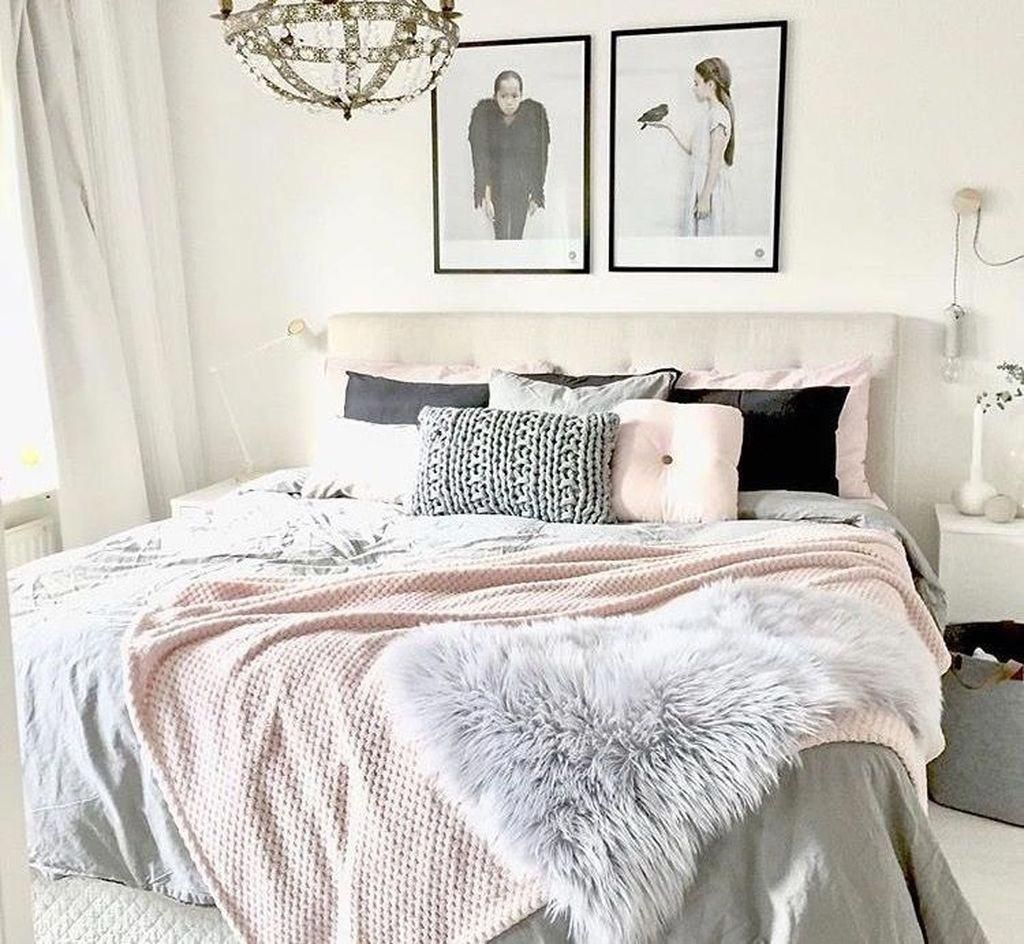Nice 47 Modern Shabby Chic Bedroom Ideas Shabbychicbedroom