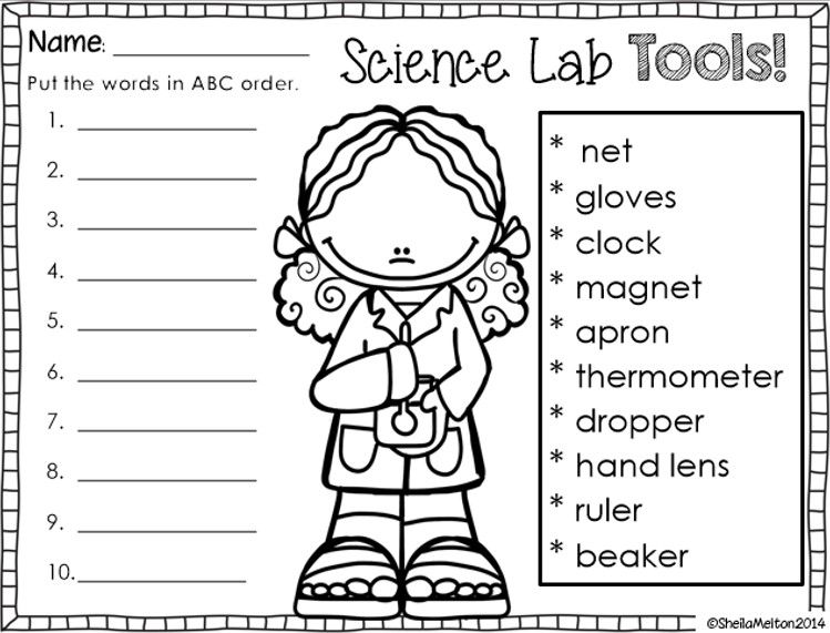 Worksheets Tools Of Science Worksheet 1000 images about science on pinterest lab safety tools what do scientists do