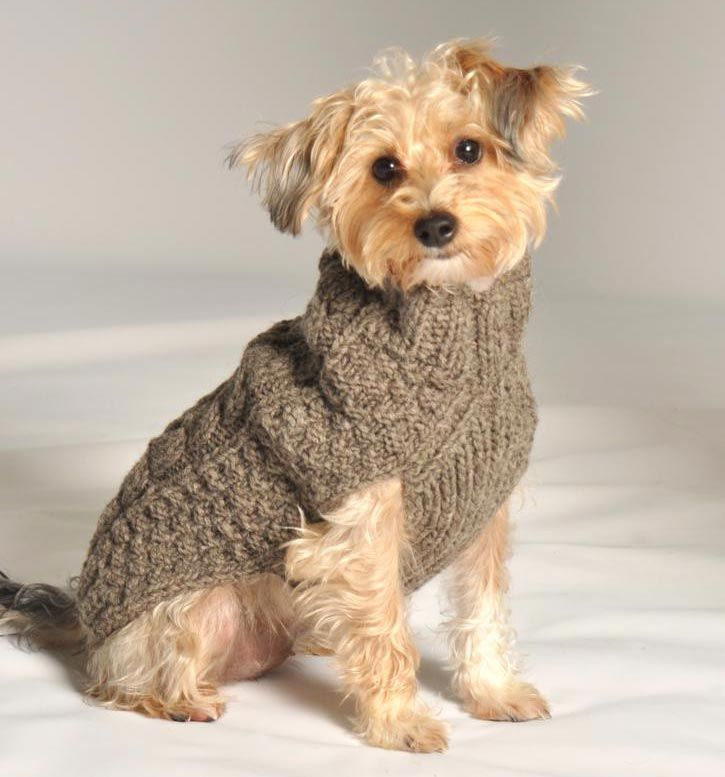 Cable Knit Dog Sweaters | Fuzzy Babies | Pinterest | Cable knitting ...