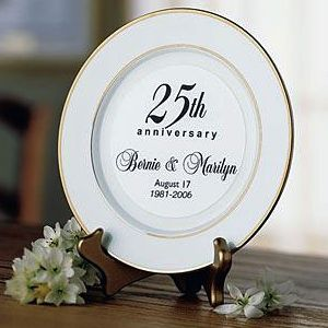25th wedding anniversary gifts for friends