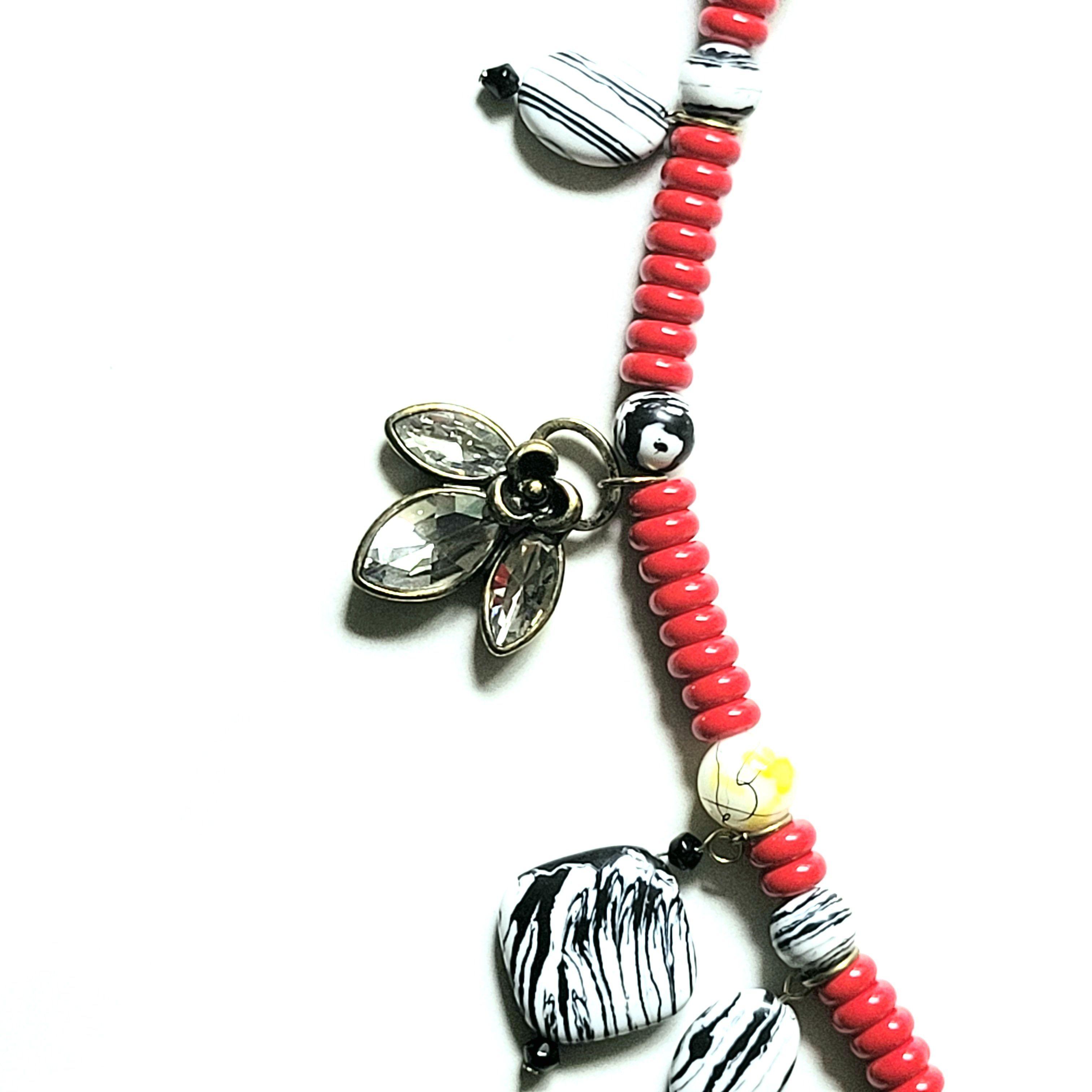 Marienkäfer-Halskette