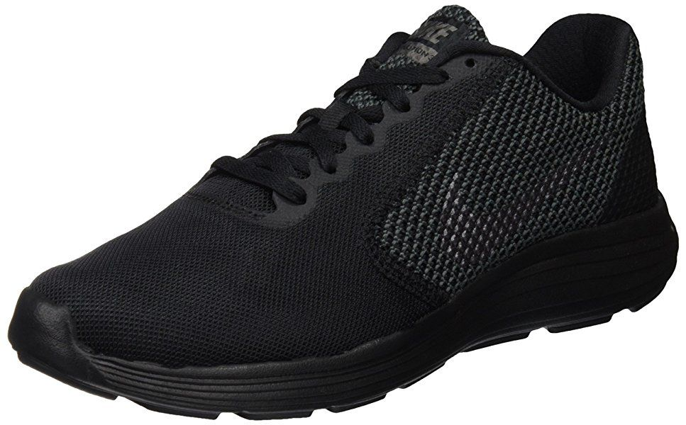 NIKE Women's Revolution 3 Running Shoe, Black Mtlc Dark Grey, 6 B(M