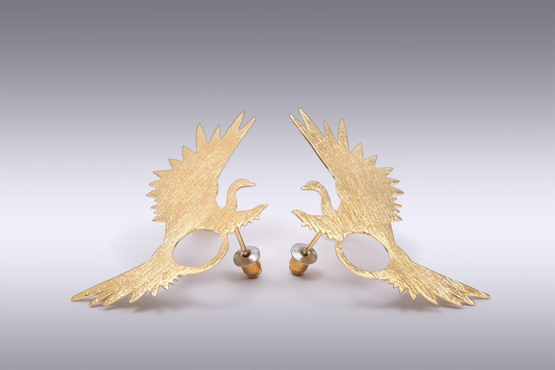 Meridaâ Earrings by  La Fiancee Du Facteur
