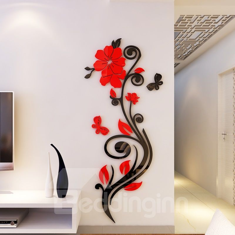 30 Vintage Bedroom Wall Decals Design Ideas To Try Wall Decals