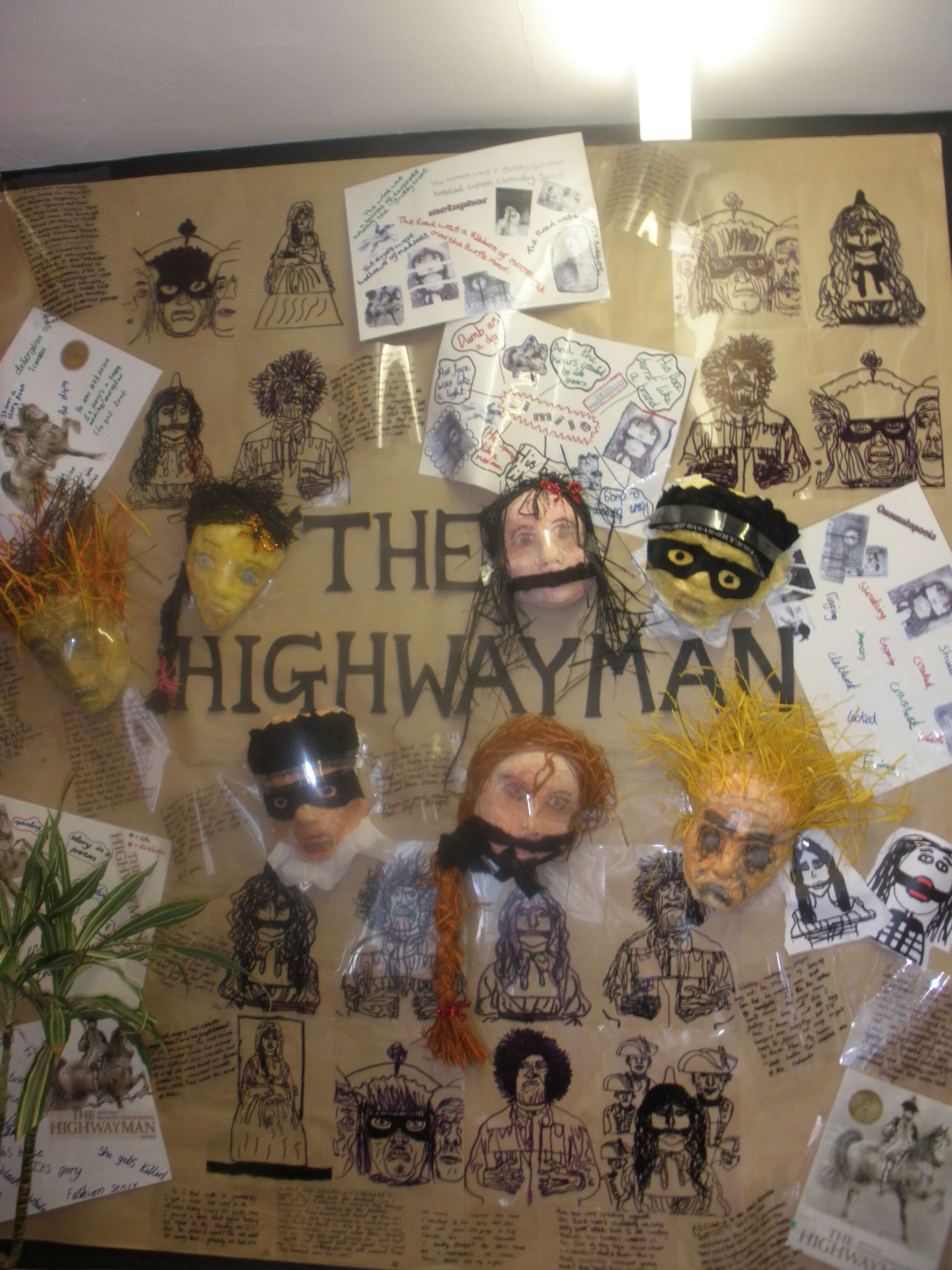 worksheet The Highwayman Worksheet the highwayman display juliette benton highfield primary school uk uk