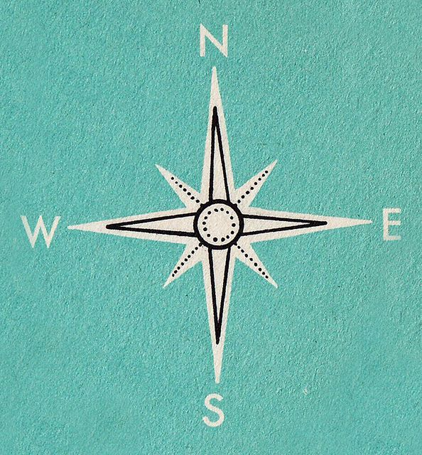 Compass Rose by Calsidyrose, via Flickr