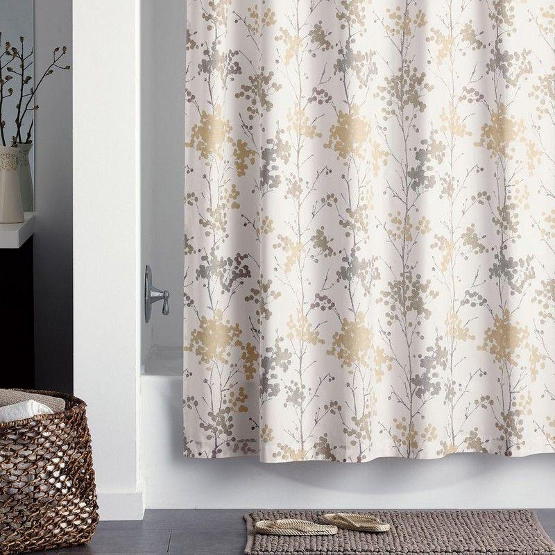 Alton 300 Thread Count Organic Percale Shower Curtain
