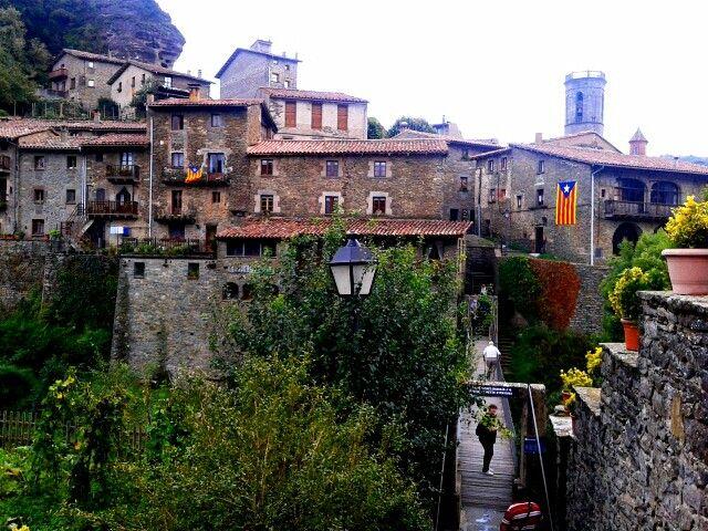 Rupit Osona Catalunya Catalonia Lugares Para Visitar Ordesa Ciudades