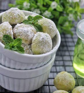 Imaa S Cooking Diary Putri Salju Greentea Keju Resep Biskuit Resep Masakan Makanan