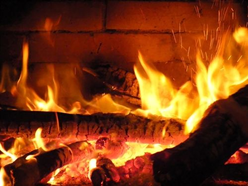 Fire Crackling Love Sitting By The Fire Can39t Wait Until