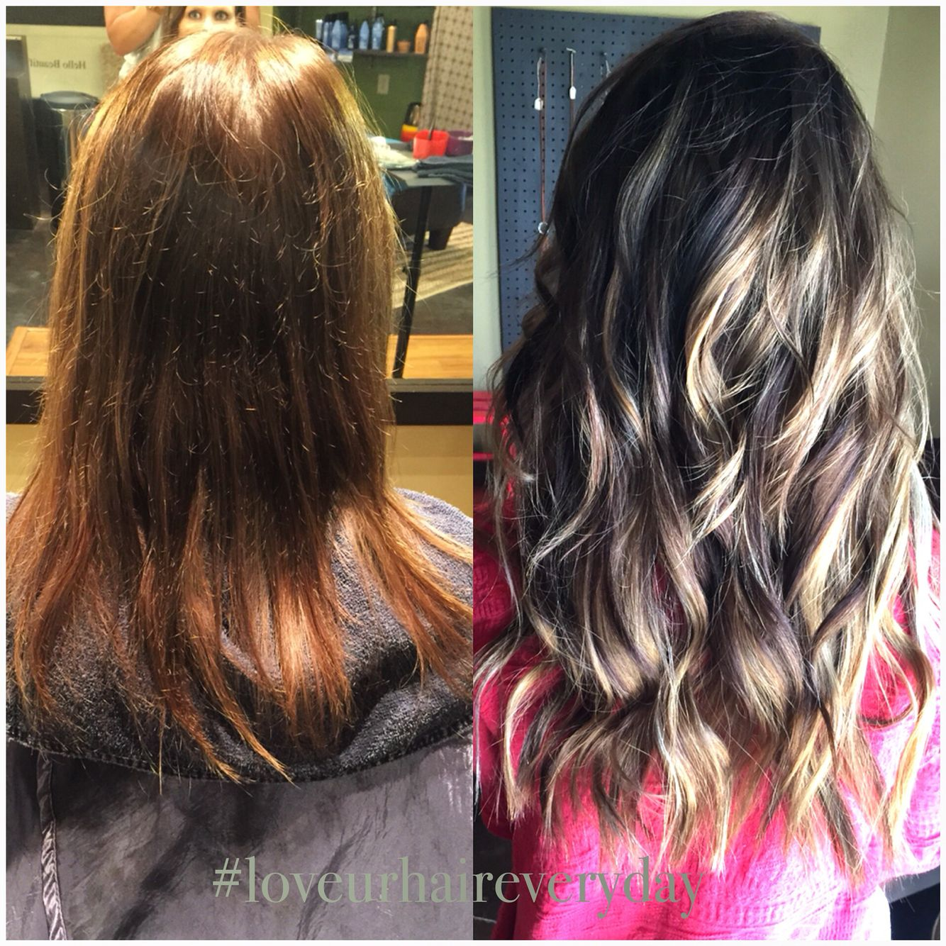 Before and after brunette sombre ombre seamless color hair before and after brunette sombre ombre seamless color hair extensions pmusecretfo Choice Image