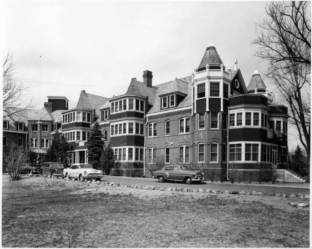 Glockner Later Penrose Glockner And Then Penrose Hospital Colorado Springs Colorado 1956 Colorado State Of Colorado Colorado Springs