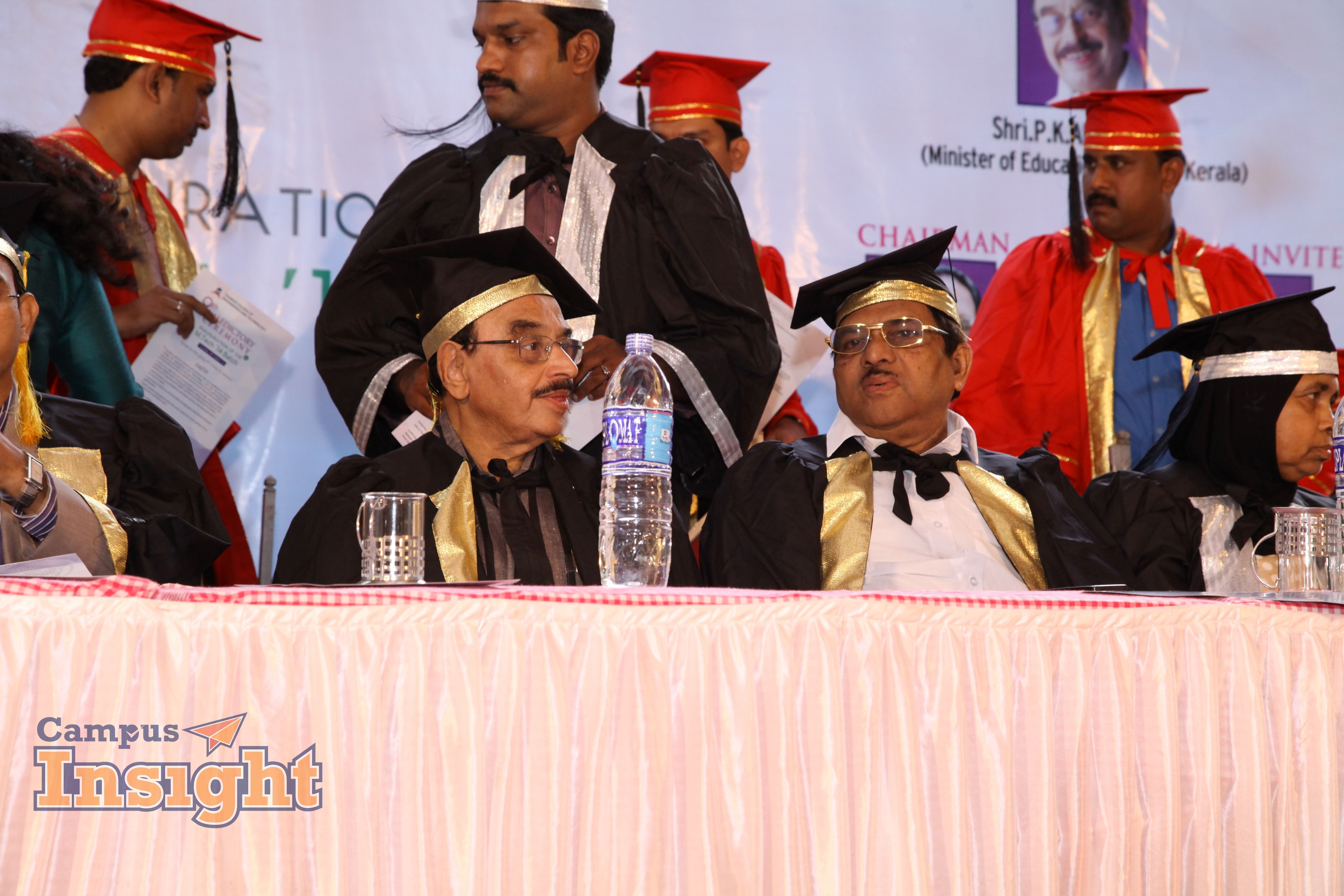 Chief Guest and Chairman Academic dress, Campus, Insight