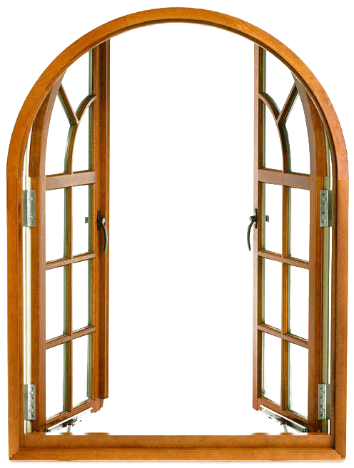 Open Window Png Arched Windows Double Glass Doors French Doors