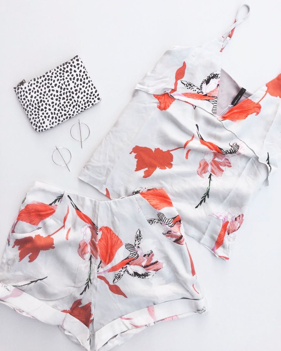 Obsessed over our newest arrival 'Iris' Cami and Shorts   Pair them together for effortless summer vibes  Link in bio to make them yours #fashionbackroom . . . . . . #style #fashion #onlineshopping #fashionblogger #ootd #expressdelivery #sydneyfashionblogger #melbournefashionblogger #modellife #luxe #outfitgoals